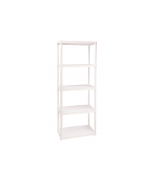 TUBULA RACKS W/ 4 SHELVES5
