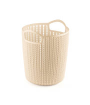 TALL PLASTIC TAPERED BASKET - S