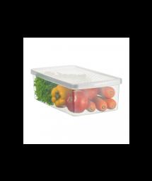 Plastic box f/ vegetables and salad - M